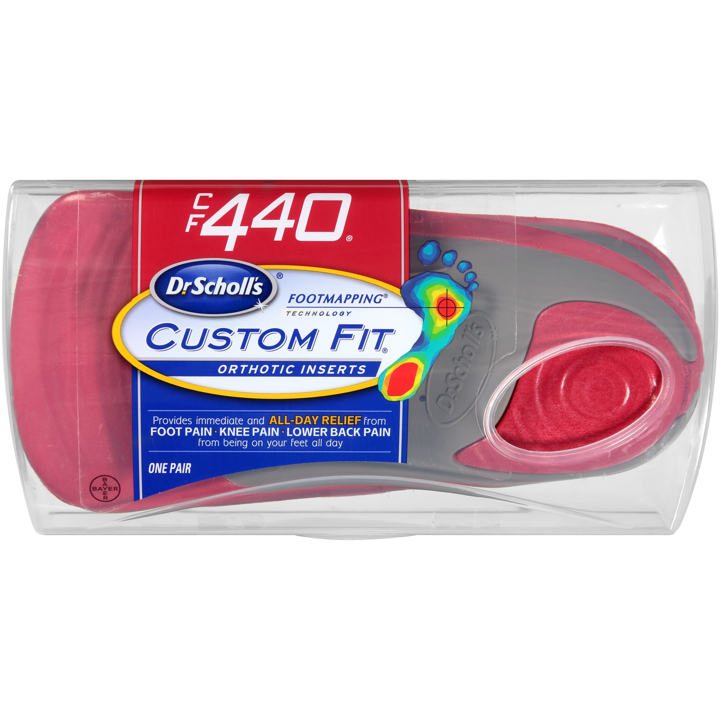 Dr. Scholl's® Custom Fit® Orthotics CF440, 1 Pair