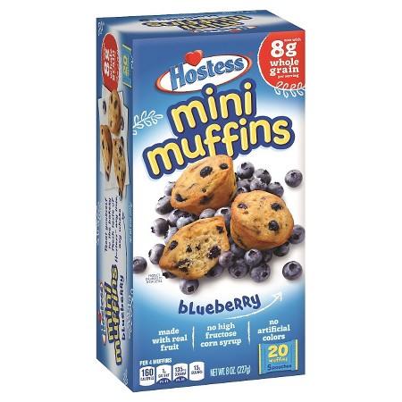 Hostess Blueberry Mini Muffins 20ct