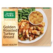 Healthy Choice Classics Complete Meals Frozen Dinner Golden Roasted Turkey Breast 10.5 Ounce