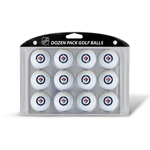 Team Golf Winnipeg Jets Golf Balls, 12 Pack