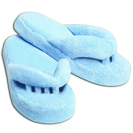 Slippers For Foot Pain Relief - Relieves Diabetes, Neuropathy, Arthritis, and moreBlue