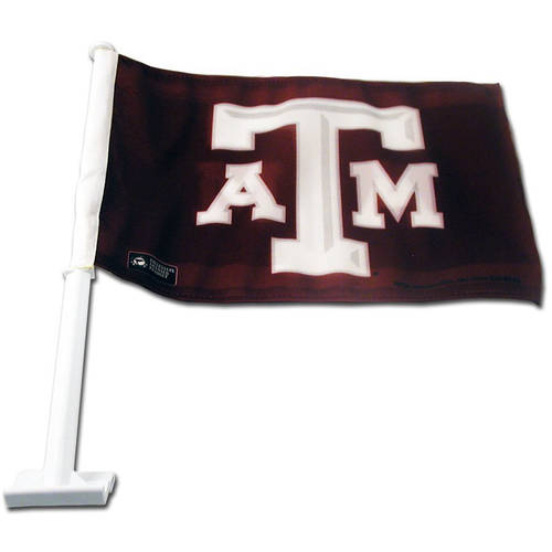 NCAA Texas A&M Car Flag