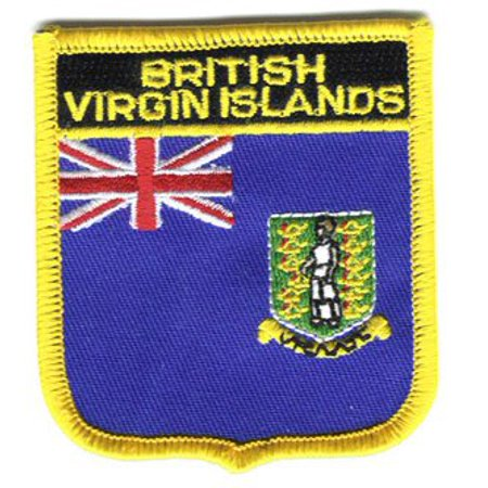 - British Virgin Islands Shield Patch