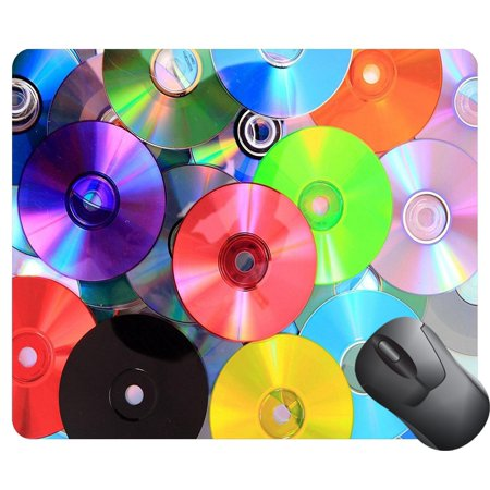 POPCreation CD and DVD data as nice color Mouse pads Gaming Mouse Pad 9.84x7.87 (Nice Mice)