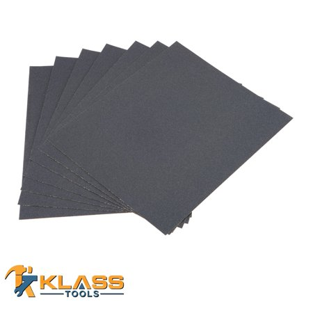 120 Grit Emery Cloth Sandpaper 4 in x 6 in Sheet 250 Sheets