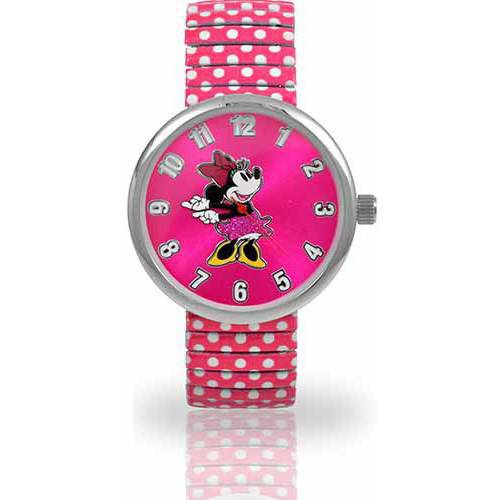 Women's Minnie Mouse Watch, Pink Expansion Band