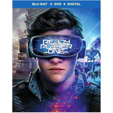 Ready Player One (Blu-ray + DVD + Digital Copy + VUDU Digital Copy)