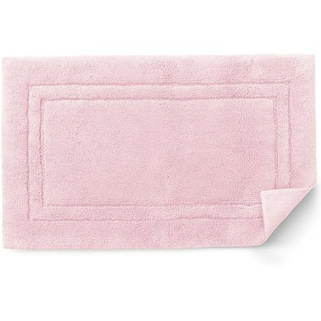 Canopy Plush Bath Rug Pink Rose