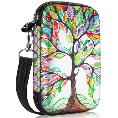 Fintie Protective Case for HP Sprocket Plus Photo Printer Hard EVA Shockproof Portable Carrying Bag Pocket Love Tree ()
