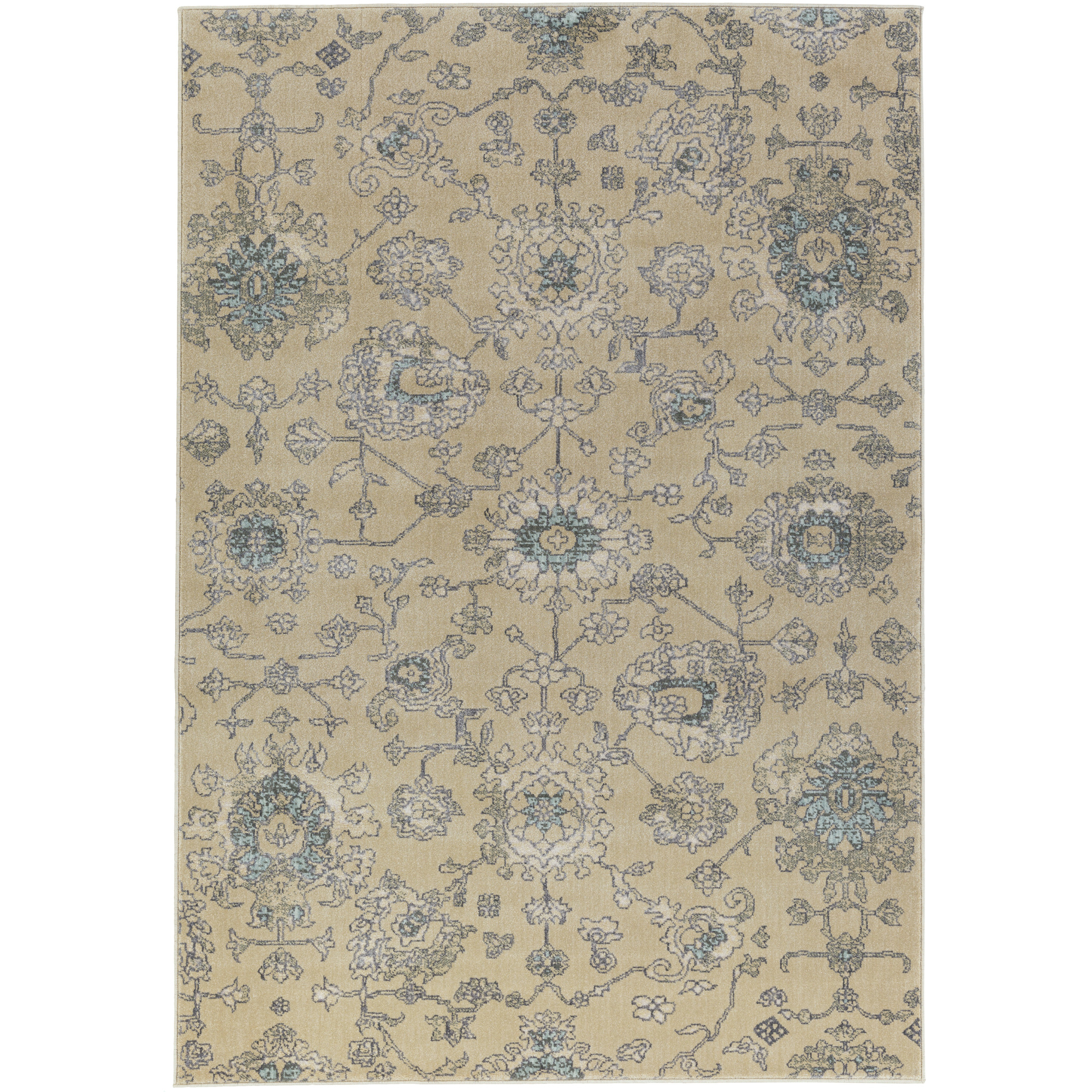 "Art of Knot Yasmin 5'3"" x 7'3"" Rectangular Area Rug"