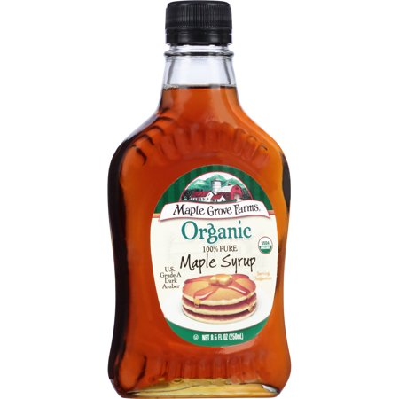 Maple Grove Farms Organic Maple Syrup  8 5 Oz