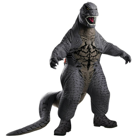 Godzilla Kids Inflatable Halloween Costume - Black Leotard Halloween Costumes