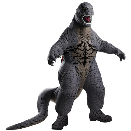 Godzilla Kids Inflatable Halloween Costume - Black Angel Costume For Kids