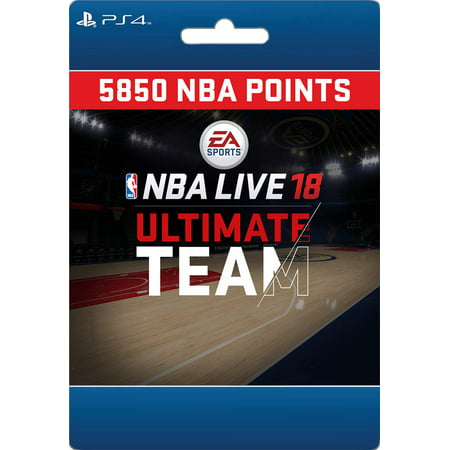 Sony NBA LIVE 18: NBA UT 5850 Points Pack (email delivery)
