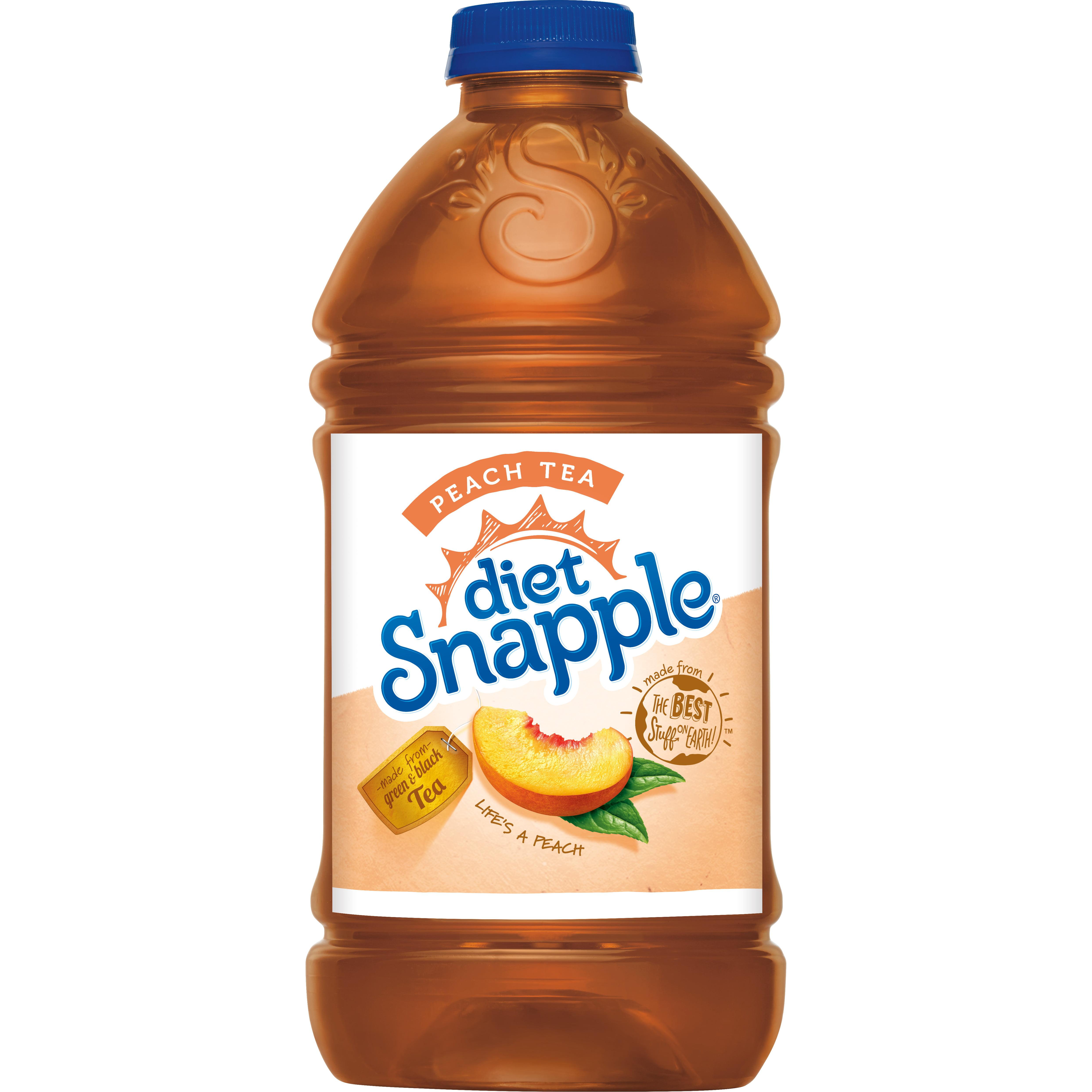 how healthy is diet peach snapple tea