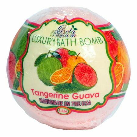 Bela Premium Luxury Bath Bomb - 4.5 oz. (Tangerine