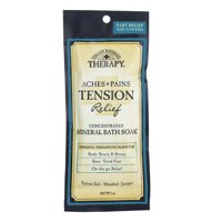 Village Naturals Therapy Aches & Pains Tension Relief Mineral Bath Soak 2 Oz