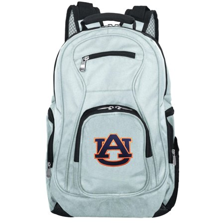 NCAA Auburn Tigers Gray Premium Laptop Backpack