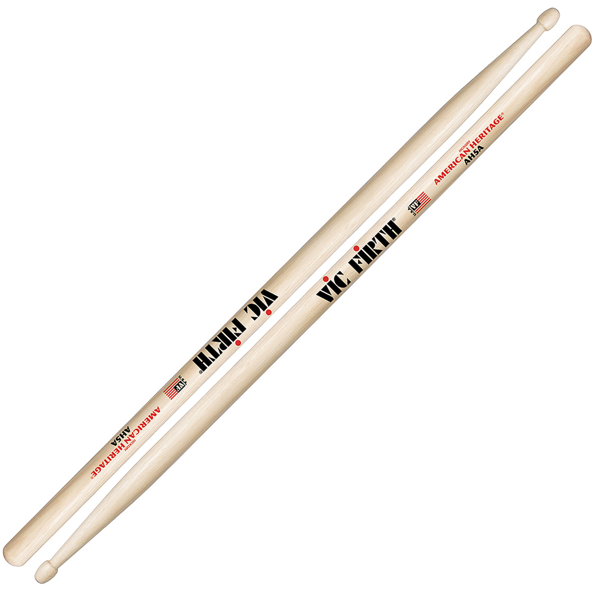 Vic Firth AH5A American Heritage Wood Tip Drumsticks by Vic Firth