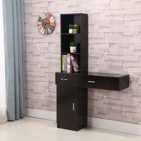 Wall Mount Beauty Salon Spa Mirrors Station Hair Styling Station Desk (Salon Mirror)