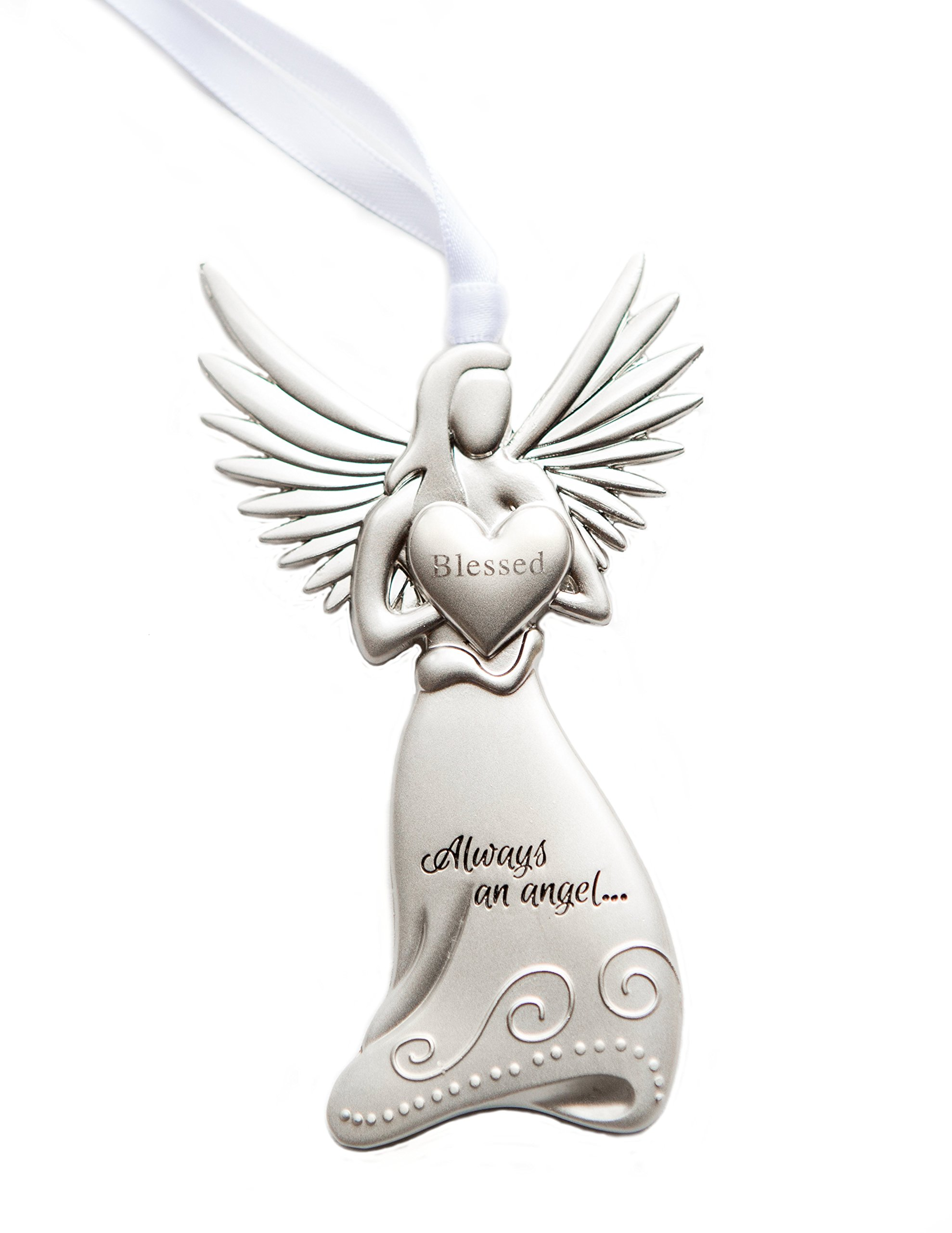The Grandparent Gift Irish Baby Angel Ornament And Blessing