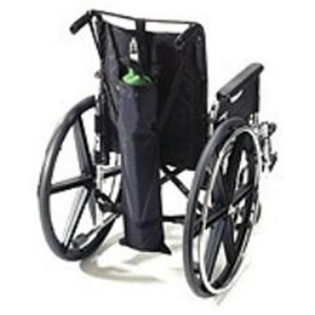 EZ-Access EZ0140BK Wheelchair Oxygen Carrier - Dual