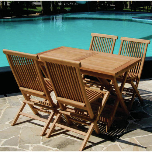 Bamboo54 Vineyard 5 Piece Dining Set
