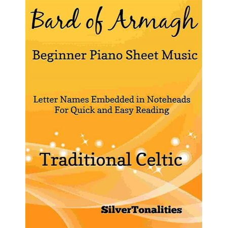 Bard of Armagh Beginner Piano Sheet Music - eBook