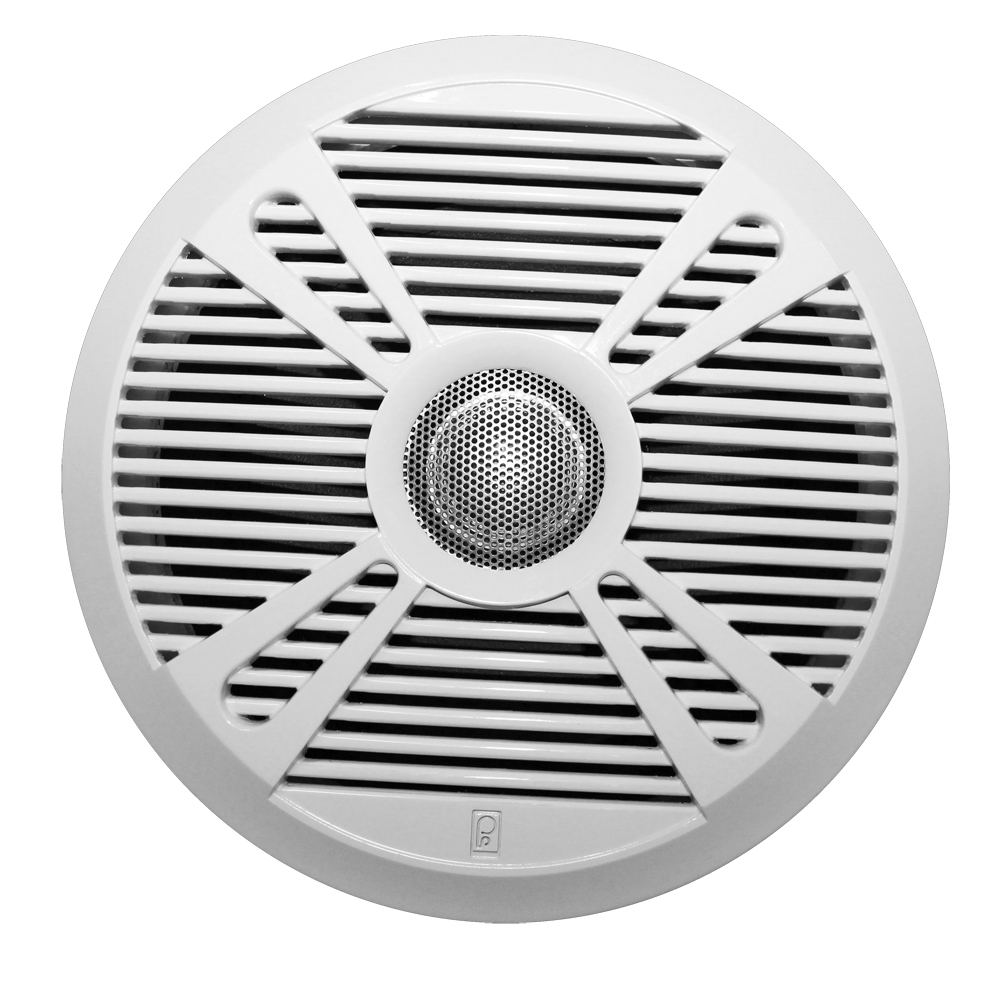 "POLY-PLANAR MA7065 6.5"" 2 WAY SPEAKER W/ 2 GRILLS INCLUDED"