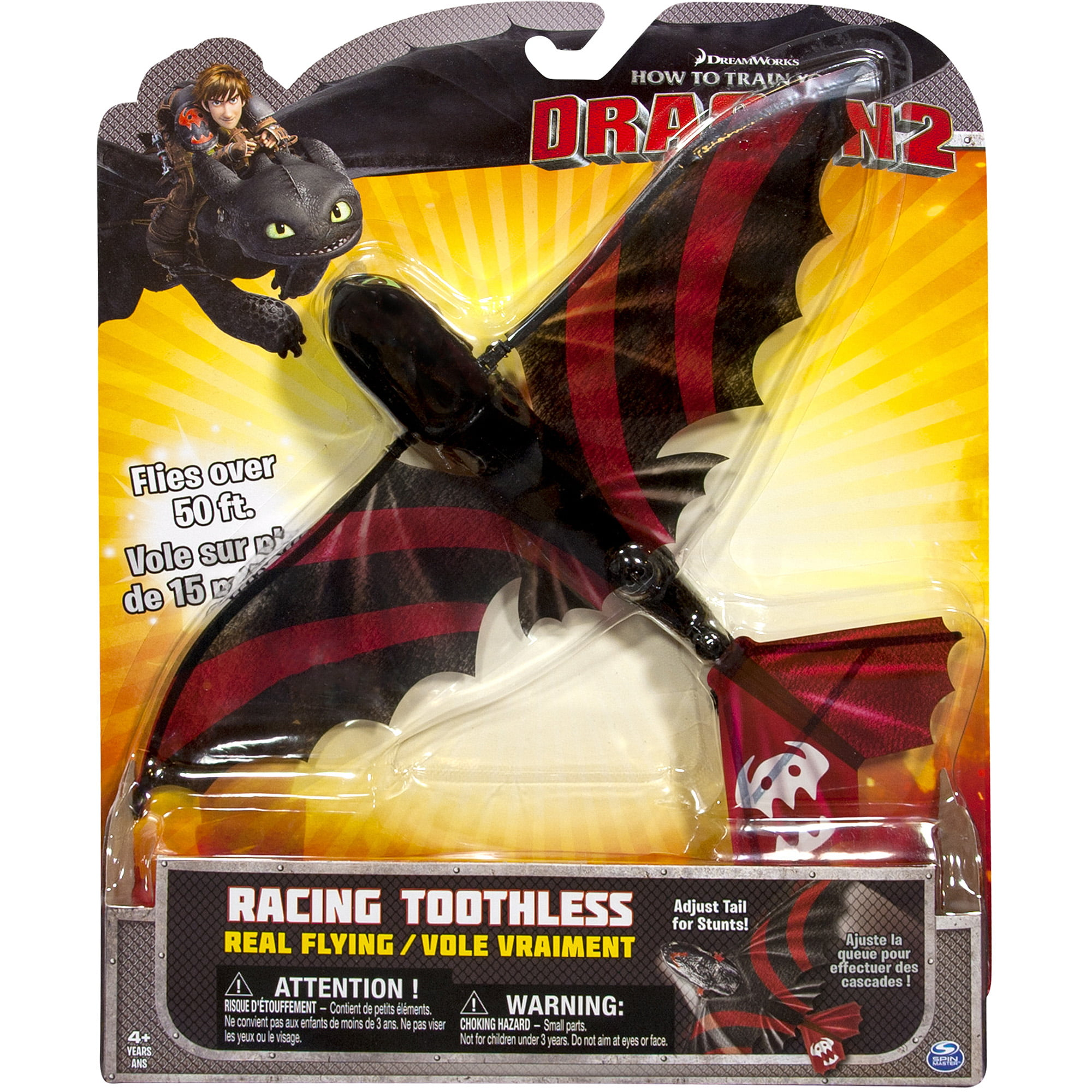 DreamWorks How To Train Your Dragon 2 Real Flying Racing Toothless