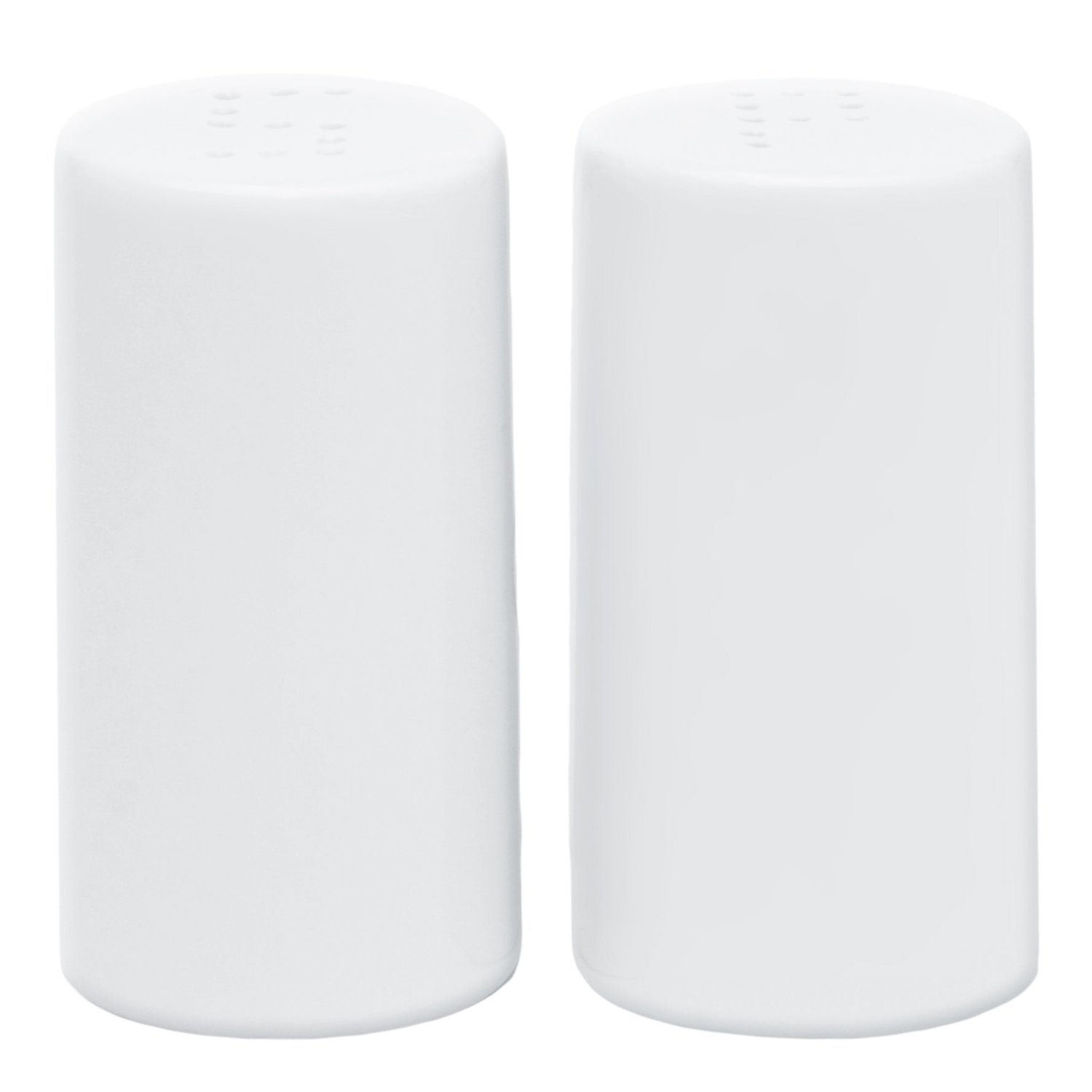 Harold Imports HIC Caf? White Porcelain Salt and Pepper Shakers by Harold Import Co.