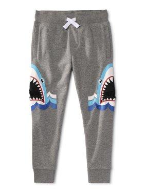 365 Kids from Garanimals Boys 4-10 Shark Pocket Jogger Sweatpants