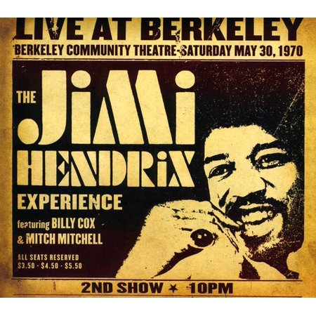 Jimi Hendrix Experience Live At Berkeley (Digi-Pak) (Experience Hendrix The Best Of Jimi Hendrix)