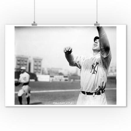 Curt Coleman, NY Highlanders (Yankees), Baseball Photo (9x12 Art Print, Wall Decor Travel Poster)
