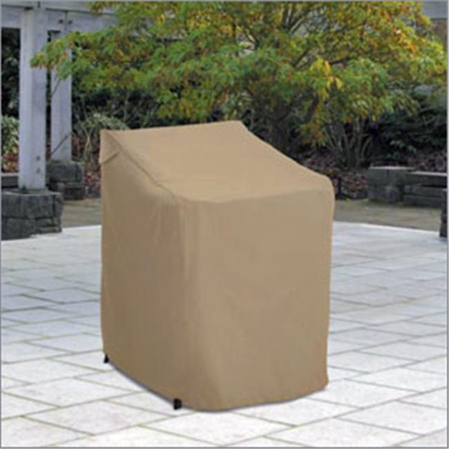 Stackable Chairs Cover - Tan Trim
