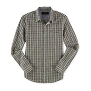 Tasso Elba Mens Fitted Button Up Shirt