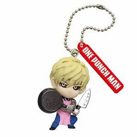 Cool Keychains For Men (One Punch Man Figure Mascot Keychain Gashapon Pt 2 -)