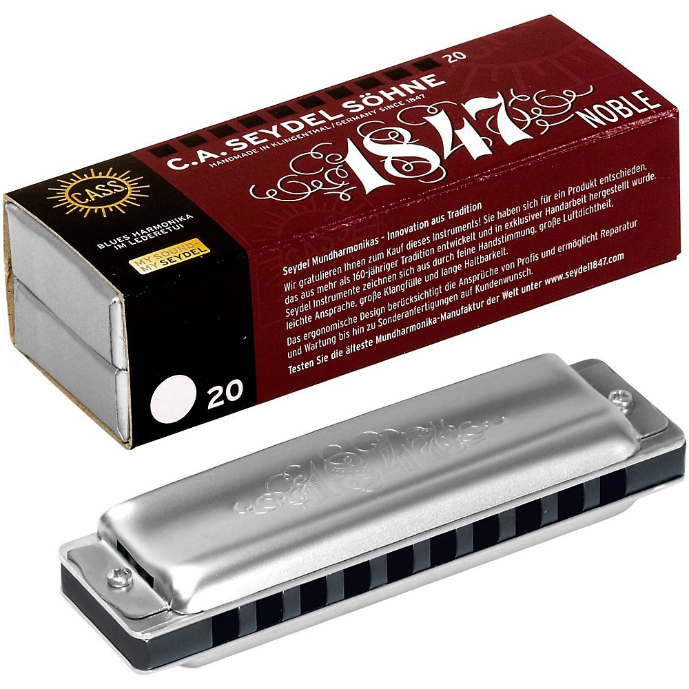 SEYDEL Blues Noble 1847 Harmonica Low Db