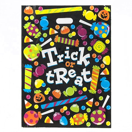 Large Trick or Treat Bags - 50 per - Walmart Halloween Trick Or Treat Bags