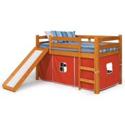 81 in. Twin Tent Bed with Slide
