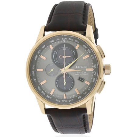 Citizen Eco Drive World Chronograph A T Atomic Mens Watch  At8113 04H