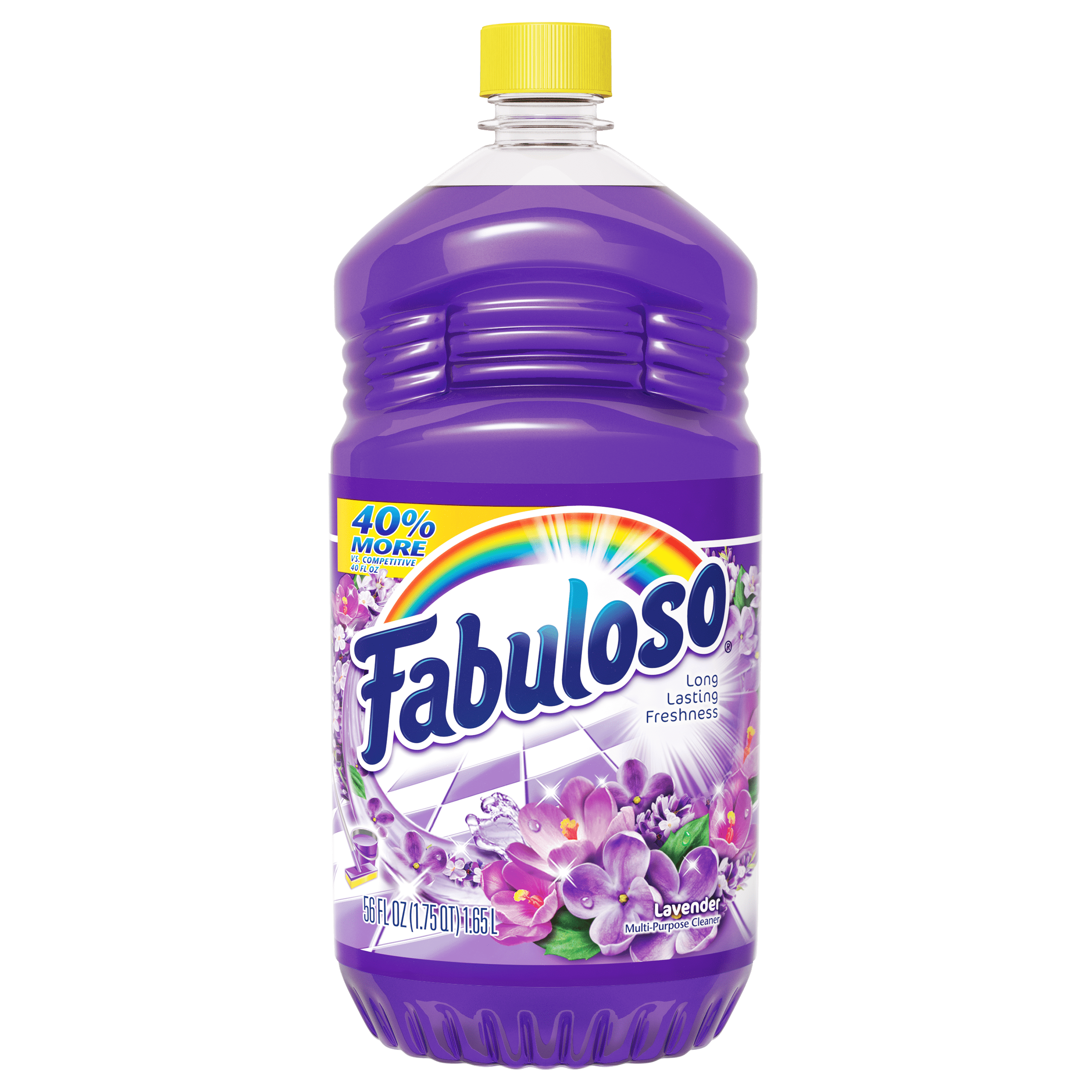 Fabuloso All Purpose Cleaner, Lavender - 56 fl oz - Walmart.com