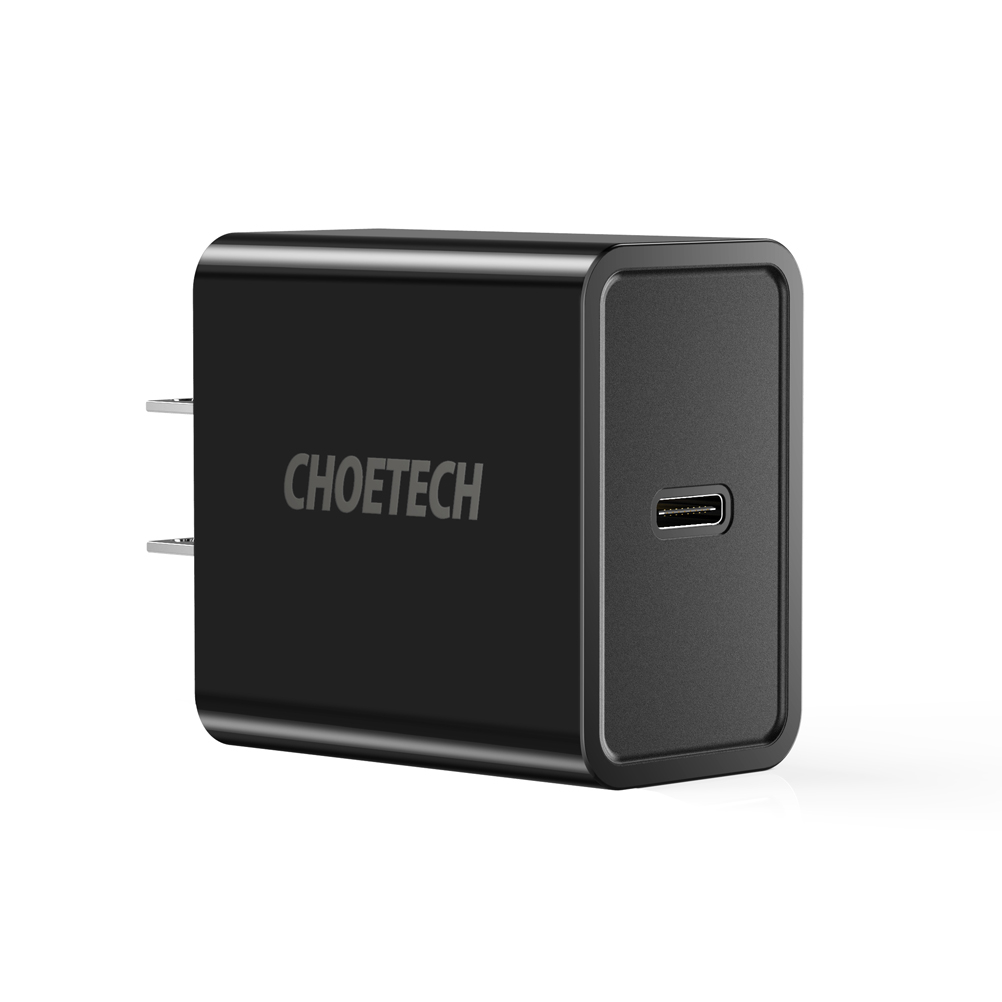 choetech 18w power delivery type c wall charger mobile phone usb pd chargers for samsung galaxy. Black Bedroom Furniture Sets. Home Design Ideas