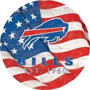 "Buffalo Bills 12"" Team Color Flag Sign"