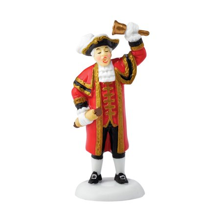 Department 56 Dickens Village 4044822 London Town Crier