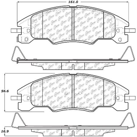 Go-Parts OE Replacement for 2008-2011 Ford Focus Front