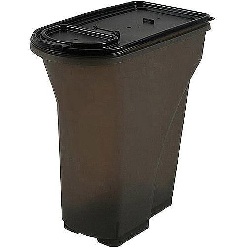 IRIS Food Storage Container, Smoke, 8qt