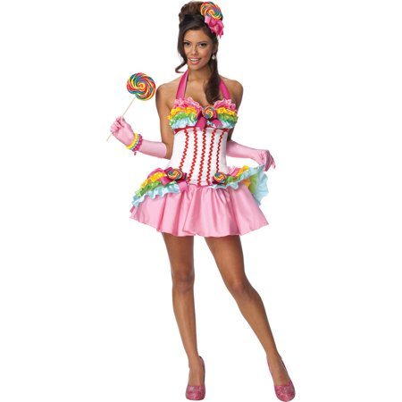 Adult Sexy Female Lollipop Candy Costume by Rubies - Adult Candy Costume