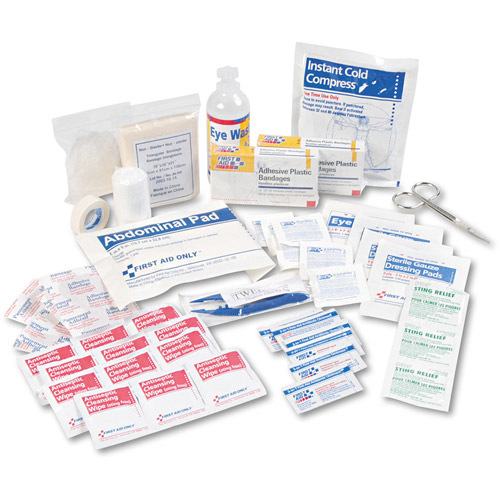 106 Piece Refill For Bulk 25 Person First Aid Kits: 223-U- 223-G & 224-U- 1 Ea. by Generic