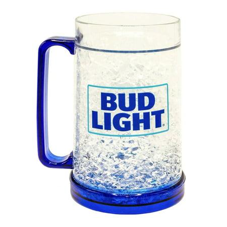 Bud Light Logo Freeze Gel 16oz Plastic (Logo Plastic Mugs)